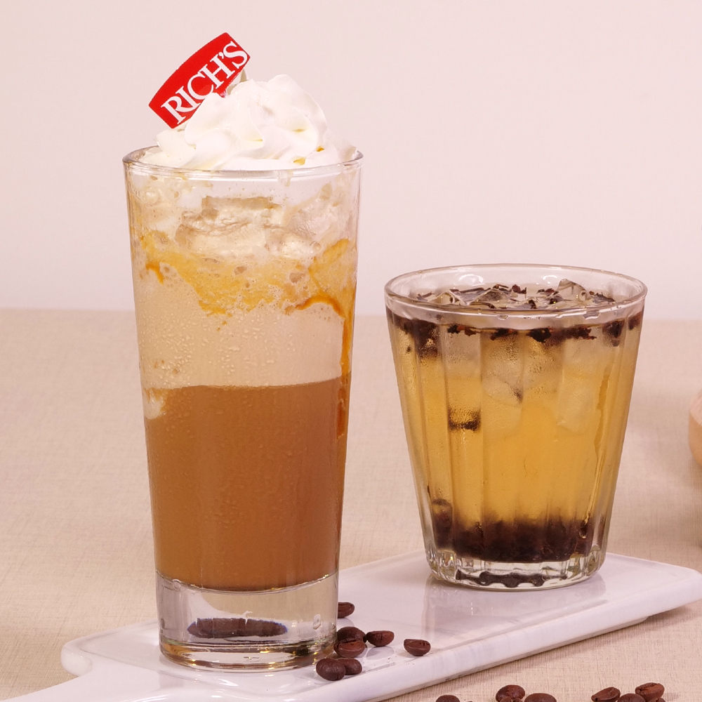 Caramel Seasalt Dollop and Coffee