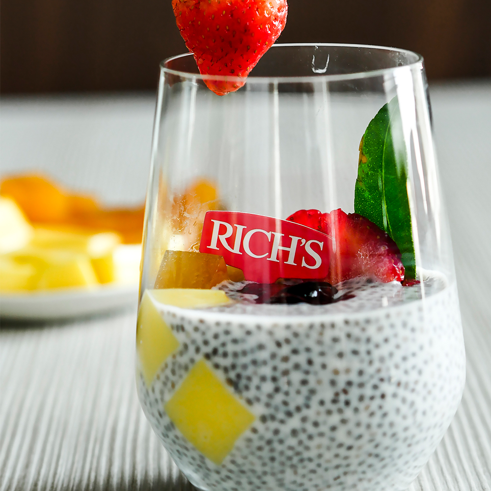 4 Season - Spring Chia Pudding